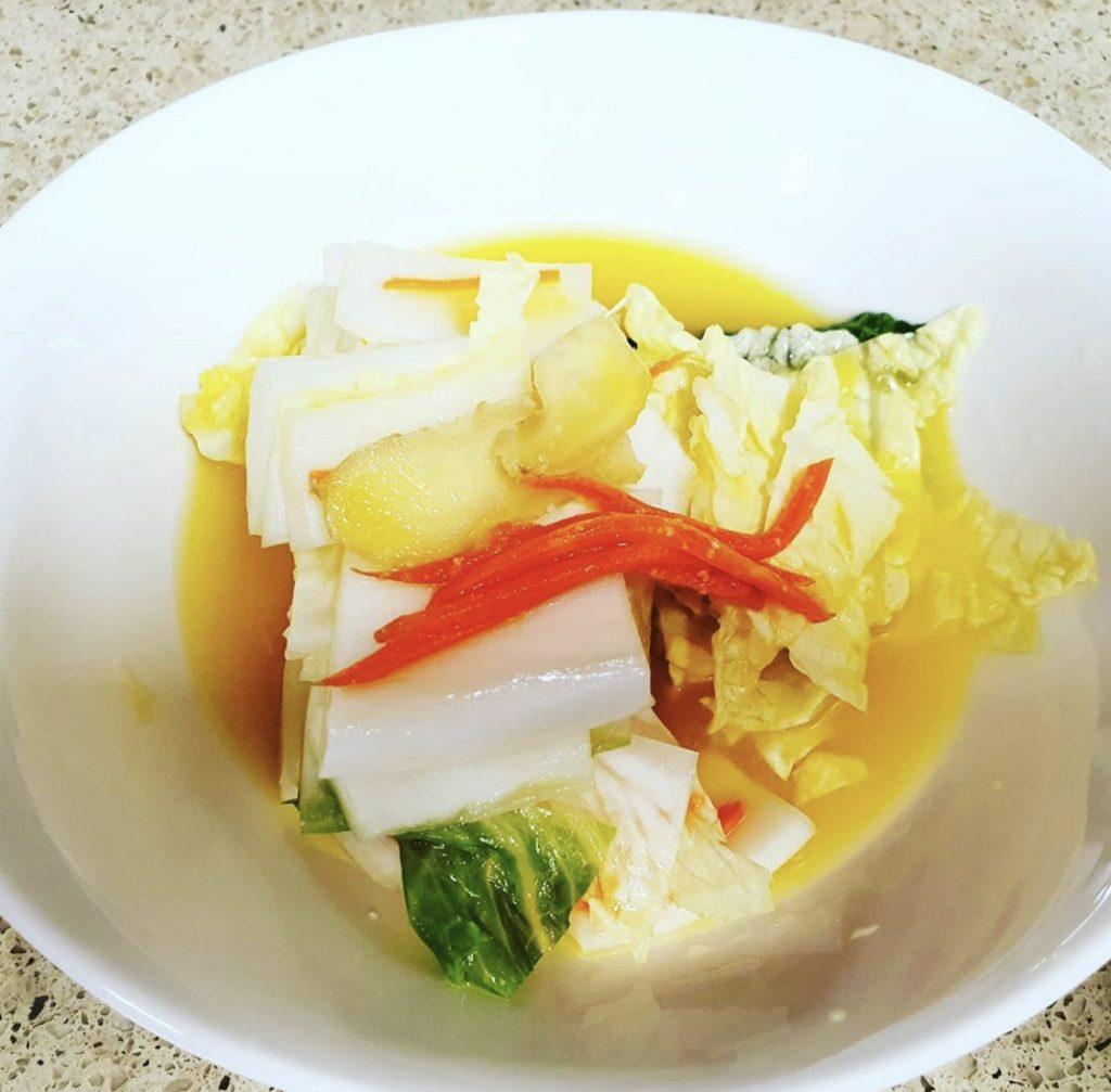 Obak kimchi
