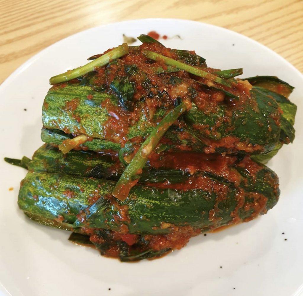 oi sobagi kimchi