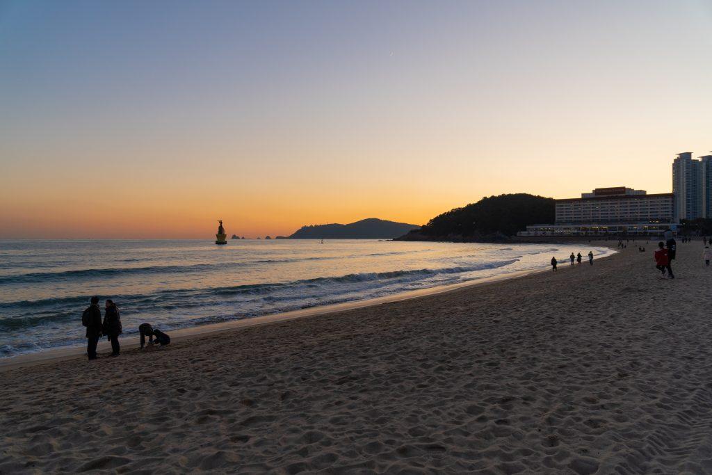 Haeundae beach a Busan